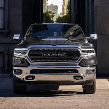 2019 Ram 1500 coming down alley
