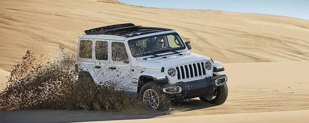 2019 Jeep Wrangler In Sand