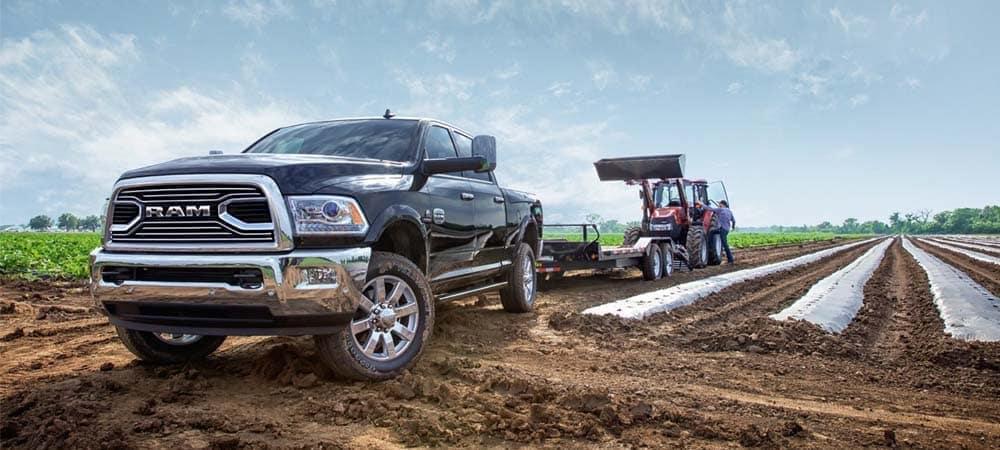 2018 RAM 2500 Laramie Longhorn towing