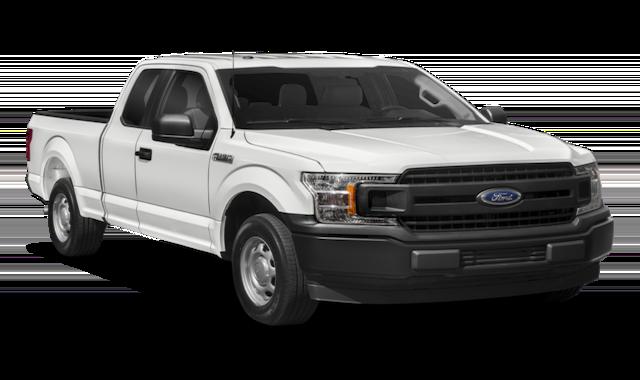 2018 White Ford F-150