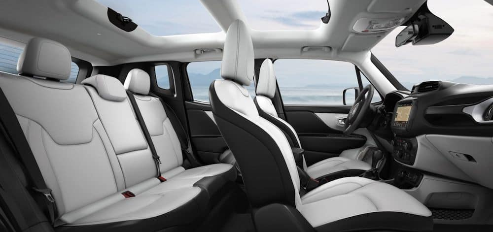 2020 Jeep Renegade Interior With Leather Seats