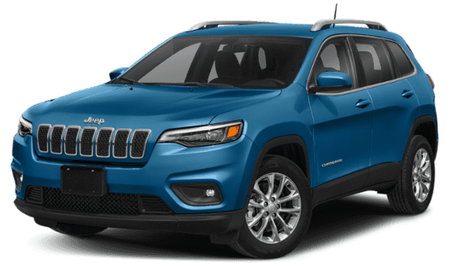 Blue 2020 Jeep Compass