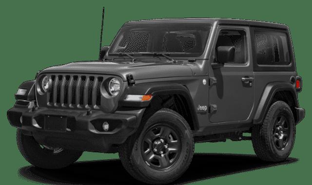 Black 2020 Jeep Wrangler