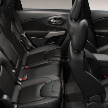 2019 Jeep Cherokee interior seating