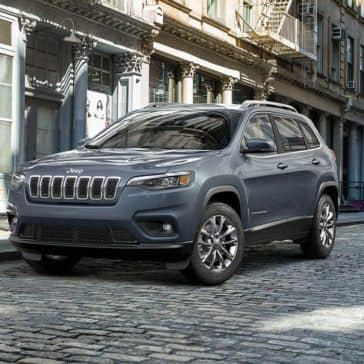 2019 Jeep Cherokee Latitude on a city street