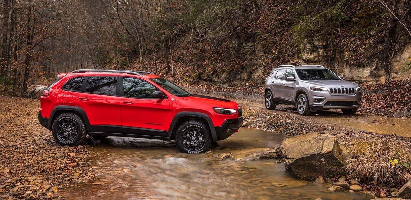 2019 Jeep Cherokee riverbed performance
