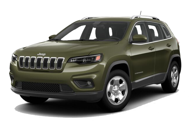 2019 Jeep Cherokee Green