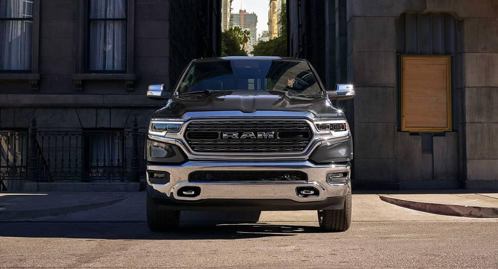 2019 Ram 1500 city alleyway