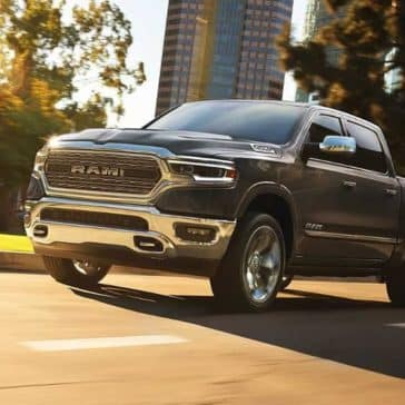 2019 Ram 1500 city street driving