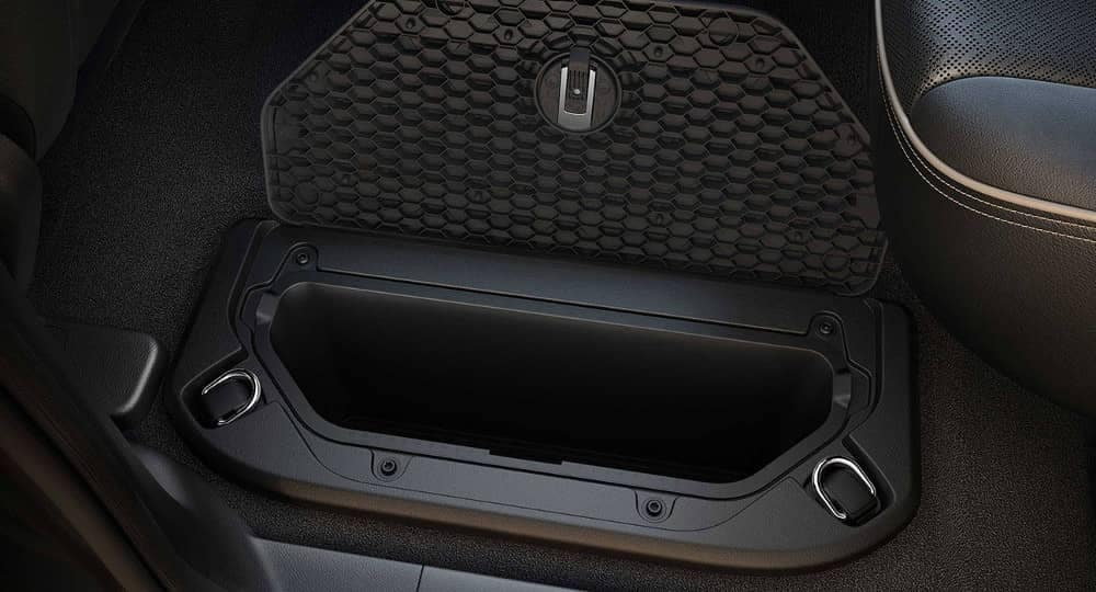 2019 Ram 1500 in floor storage