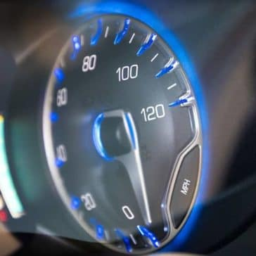 2019 Chrysler Pacifica instrument display