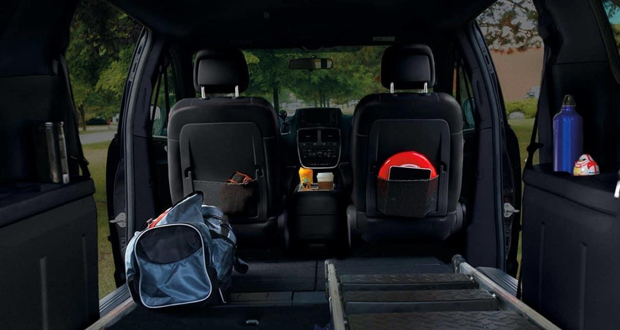 2019 Dodge Grand Caravan Interior Cargo Space