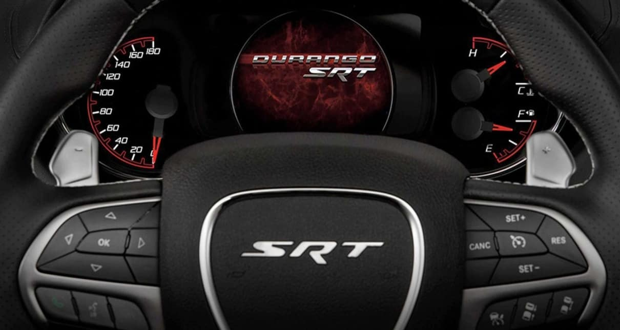 2020 Dodge Durango SRT Interior Dashboard