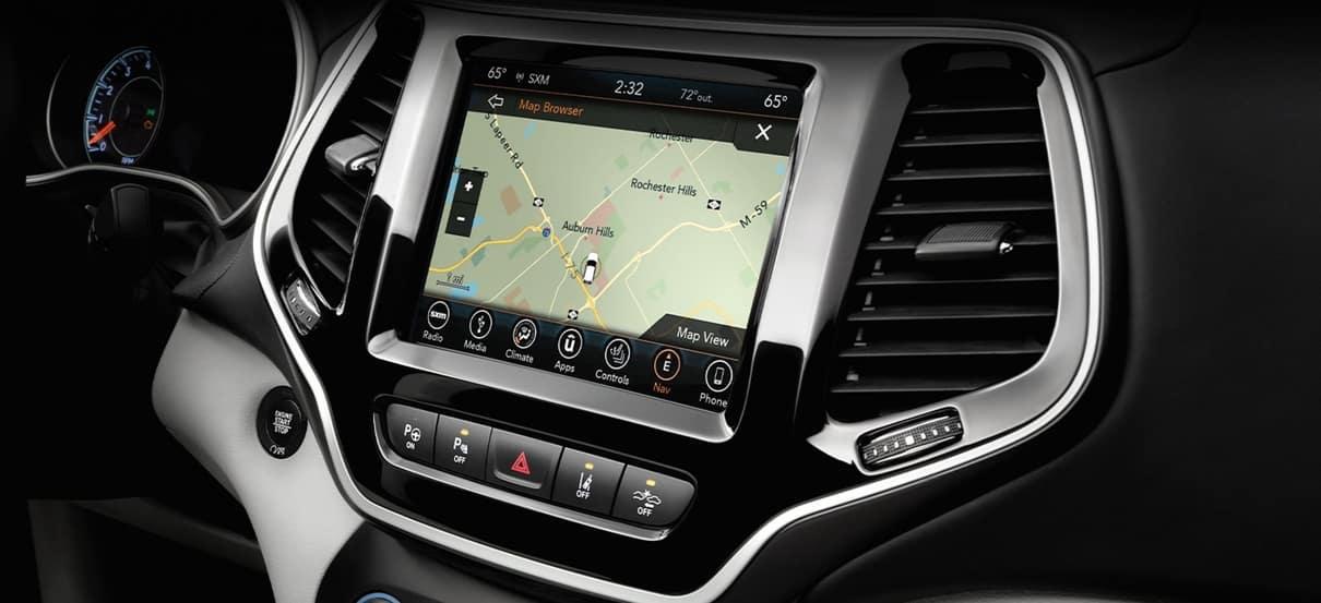 2020 Jeep Cherokee Interior Technology