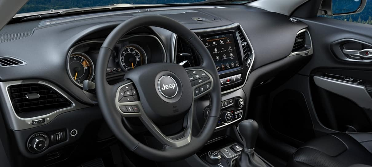 what s inside the 2020 jeep cherokee interior dick s country chrysler jeep dodge 2020 jeep cherokee interior