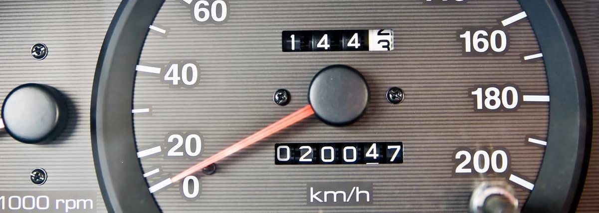Car Spedometer and Odometer