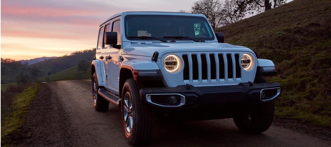 2020 Jeep Wrangler, White Exterior