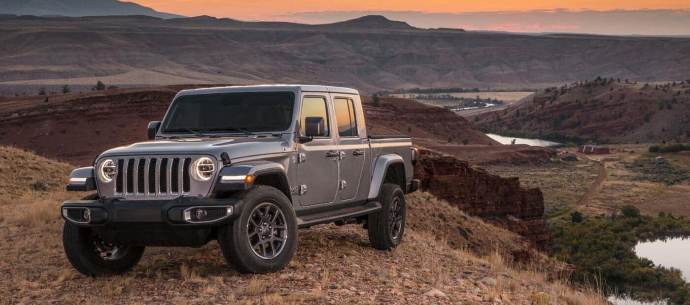2020 Jeep Gladiator in the Mountains
