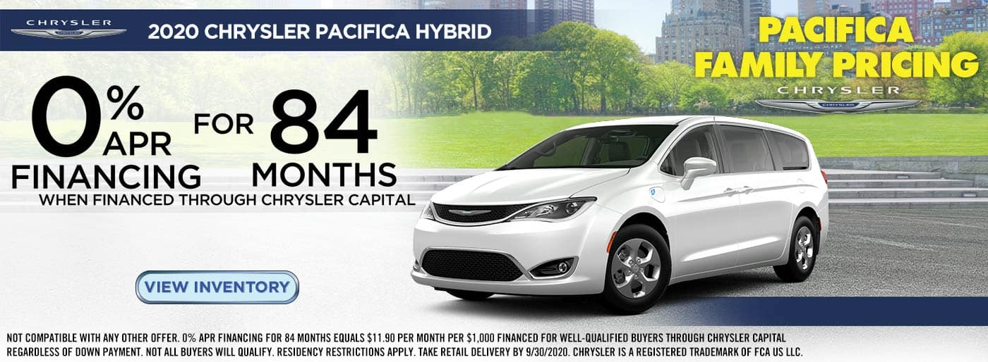 pacifica hybrid offer