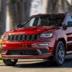 2020 Jeep Grand Cherokee Driving