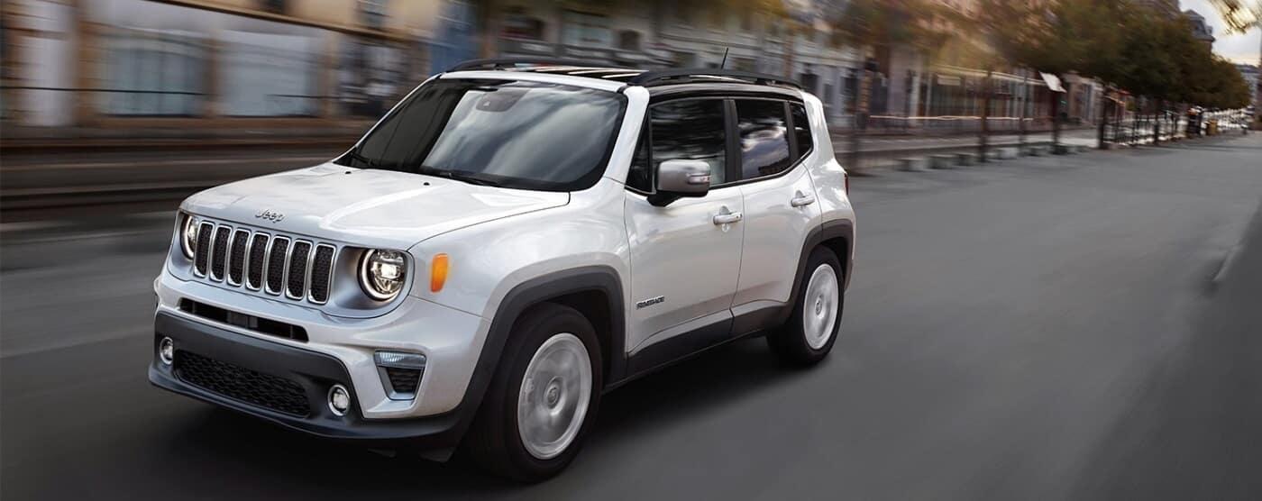2021 Jeep Renegade, White Exterior