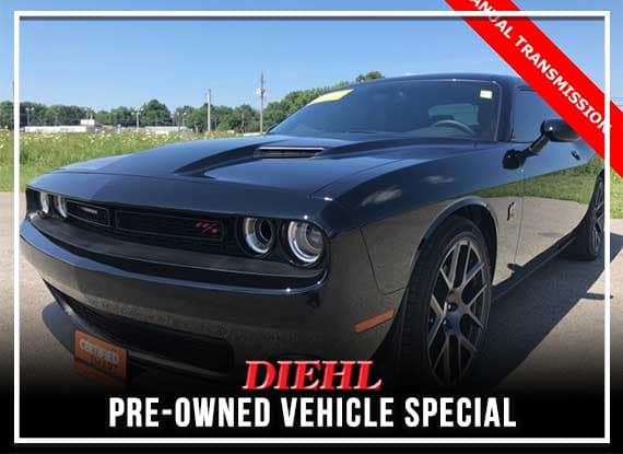 CERTIFIED PRE-OWNED 2016 DODGE CHALLENGER R/T SCAT PACK RWD 2D COUPE