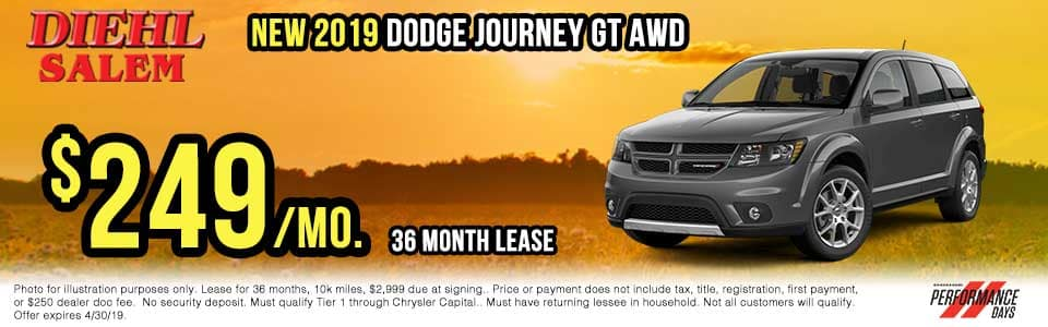 sd1927-dodge-journey-gt-awd Spring sales event jeep freedom days dodge performance days new vehicle specials lease specials vehicle sales jeep special dodge special Chrysler special ram special diehl auto Salem Ohio