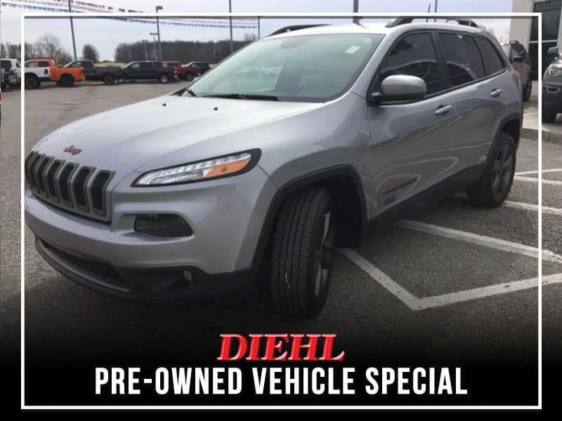 CERTIFIED PRE-OWNED 2016 JEEP CHEROKEE 75TH ANNIVERSARY EDITION FWD 4D SPORT UTILITY