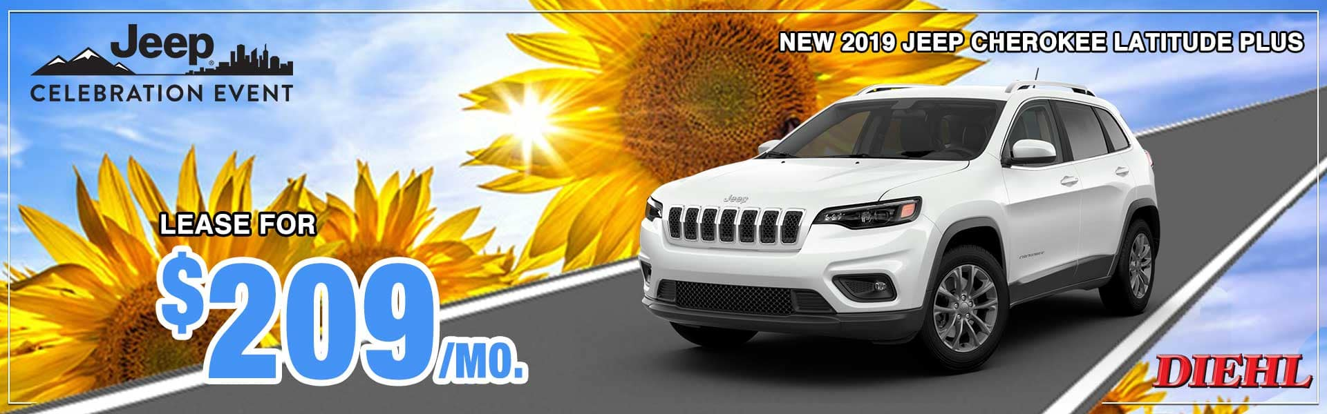 Chrysler Pacifica Blockbuster Sales Event Jeep Celebration Event Dodge Performance Days Bigger Things Sales Event 4th of July Sales Event diehl auto new vehicle special diehl of salem jeep special lease special