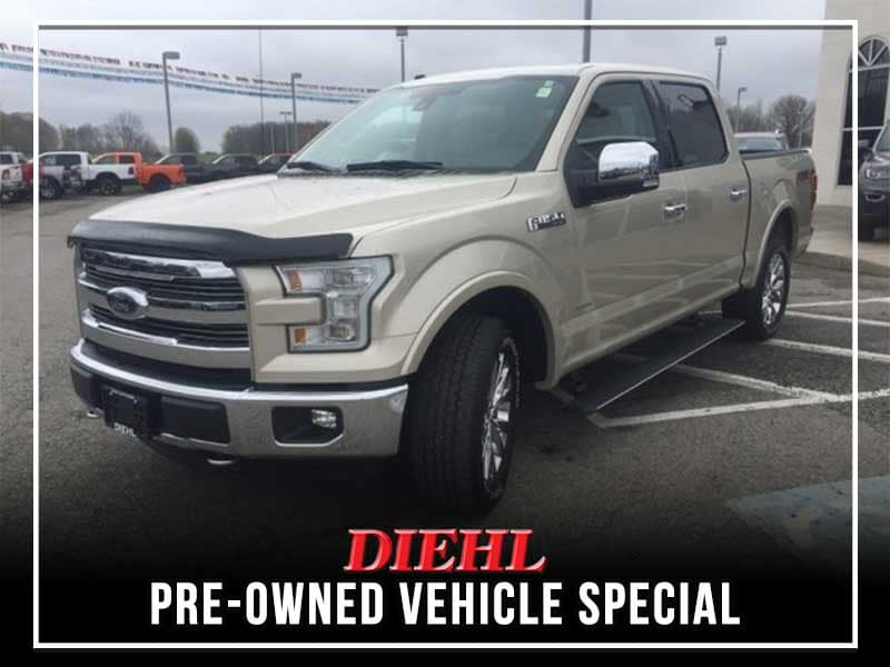 PRE-OWNED 2017 FORD F-150 LARIAT 4WD