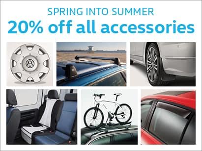 VW Accessory Sale