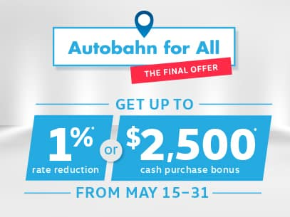Autobahn for All Final Offer Sale