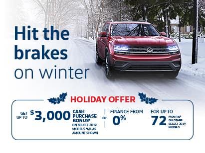 Volkswagen Holiday Offer