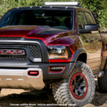 Red RAM 1500 Rebel TRX