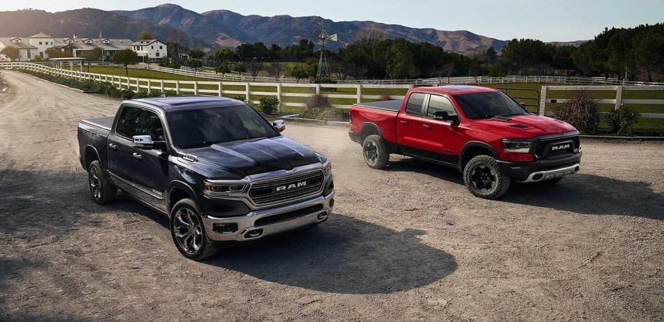 Compare the Ram 1500 and Ford F-150 at Ed Voyles CDJR in