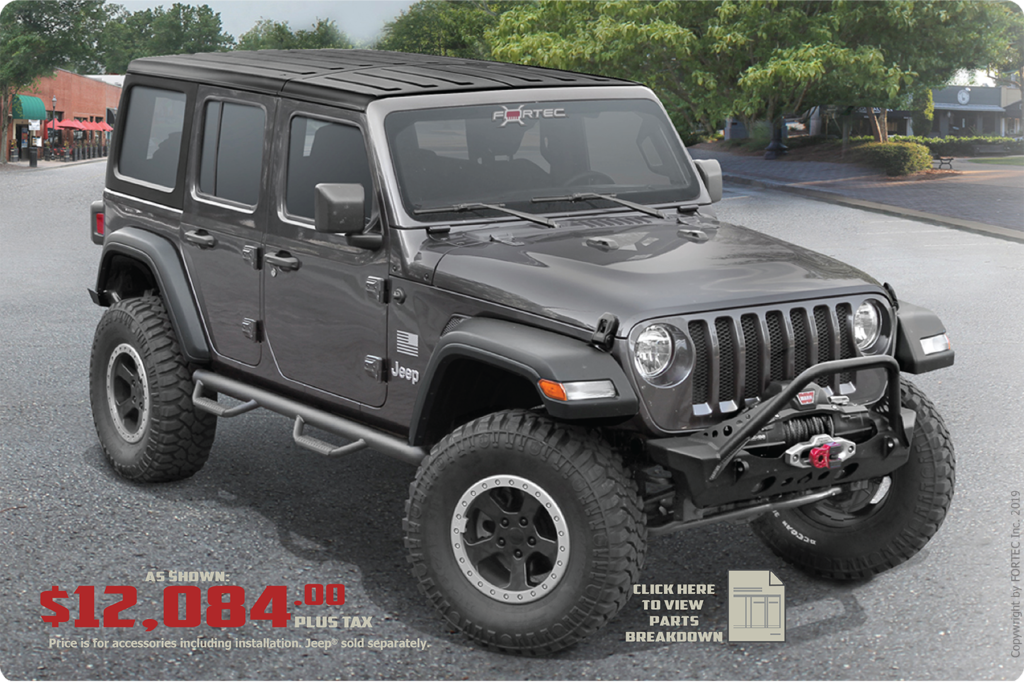 Grizzly Jeep Upfitting Packages at Ed Voyles CDJR in Marietta Ga