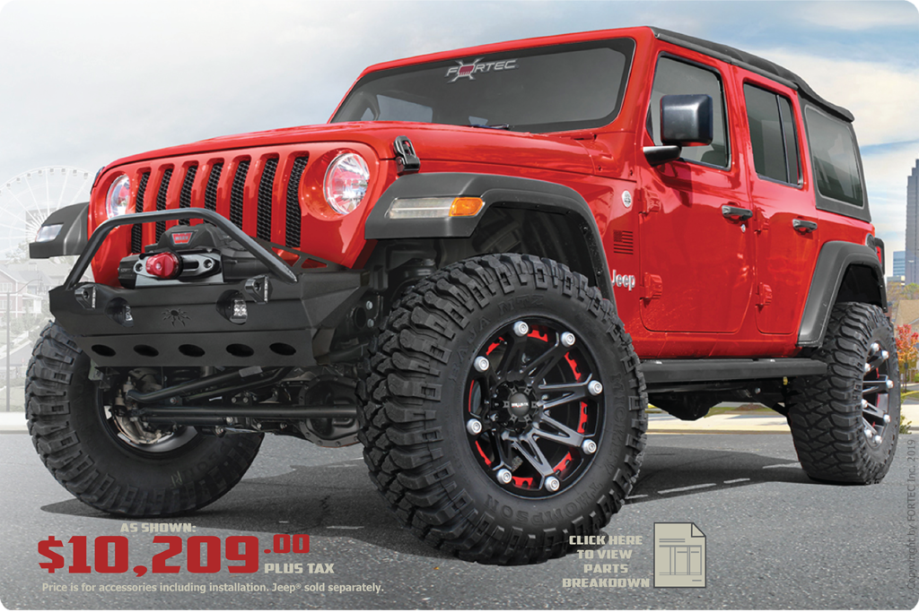 Discovery Jeep Upfitting Packages at Ed Voyles CDJR in Marietta Ga