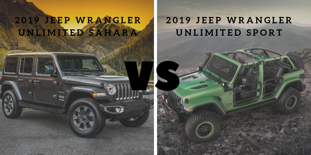2019 Jeep Wrangler: News, Design, Equippment >> Jeep Wrangler Sahara Vs Sport From Ed Voyles Cdjr In Atlanta Ga