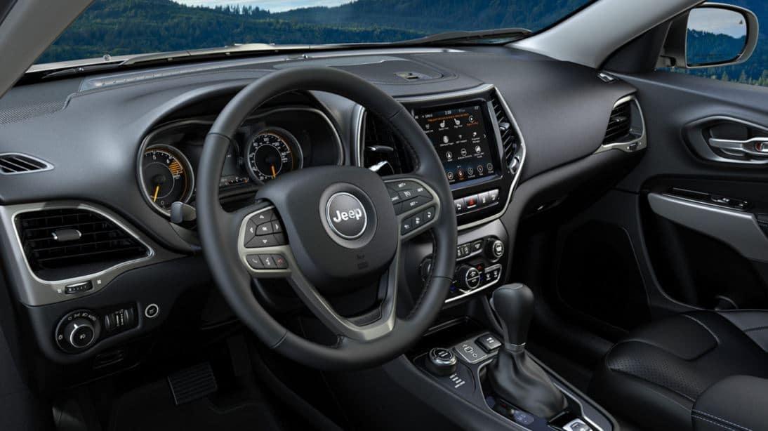2021 jeep cherokee interior dashboard