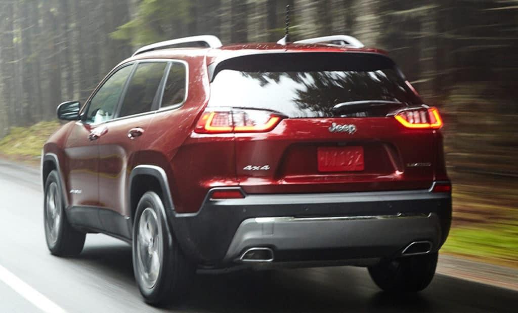 2021 Jeep Cherokee exterior red in Marietta