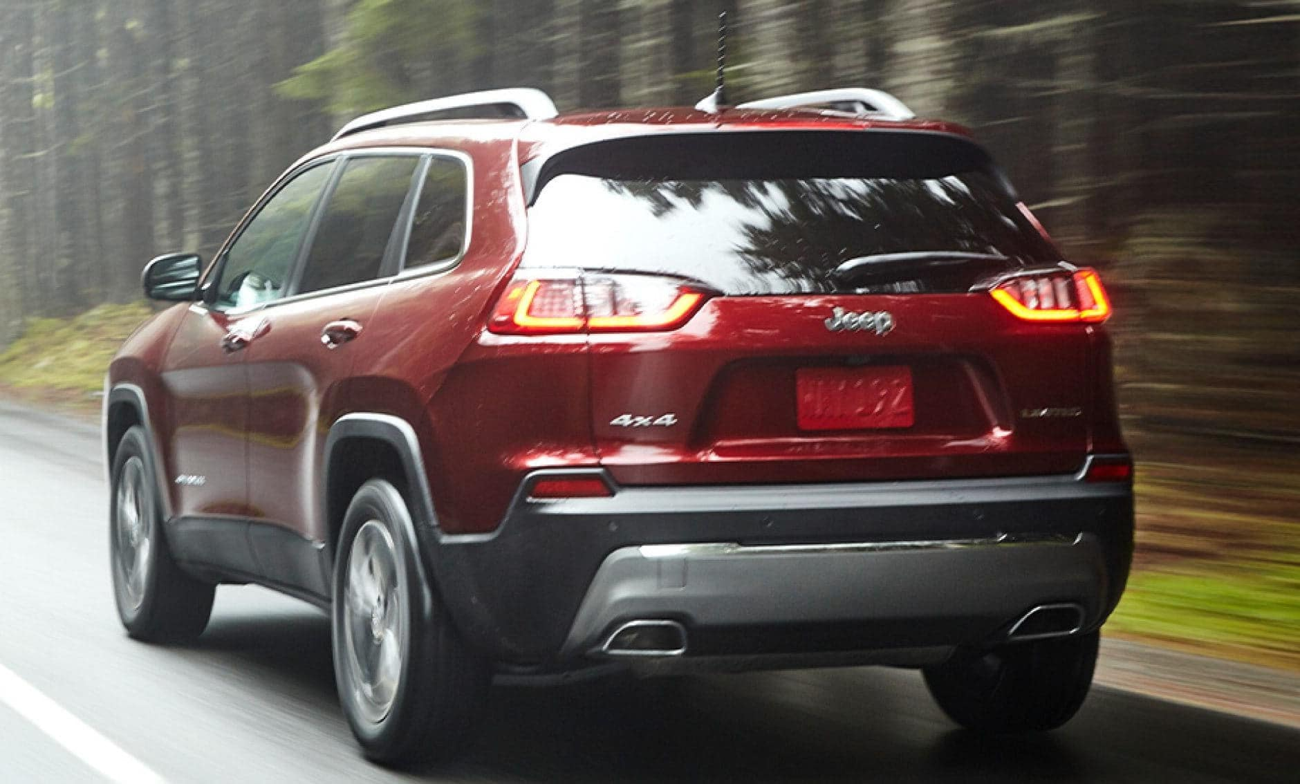 2021 jeep cherokee exterior red