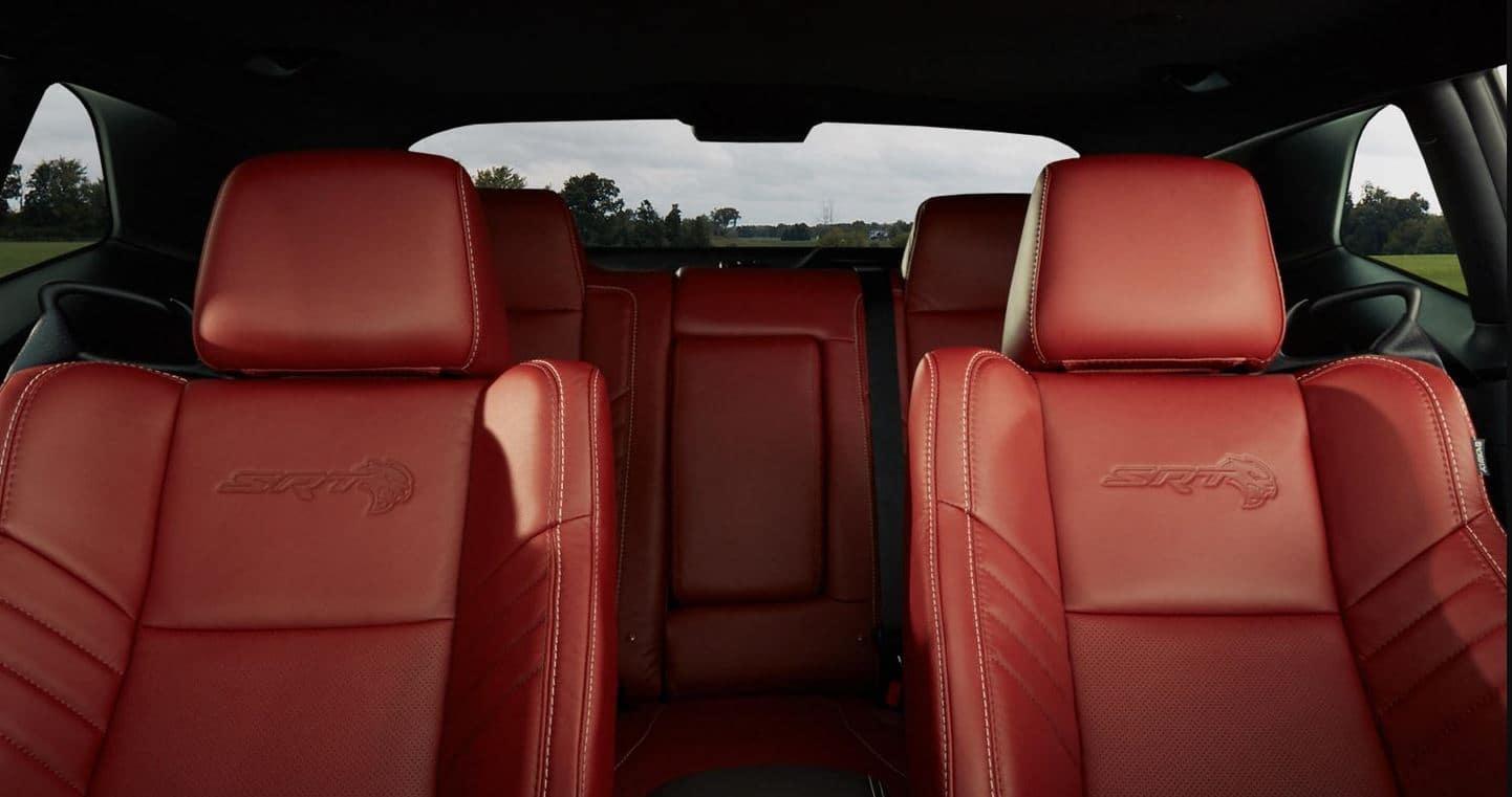 2021 Dodge Challenger Interior Backseats