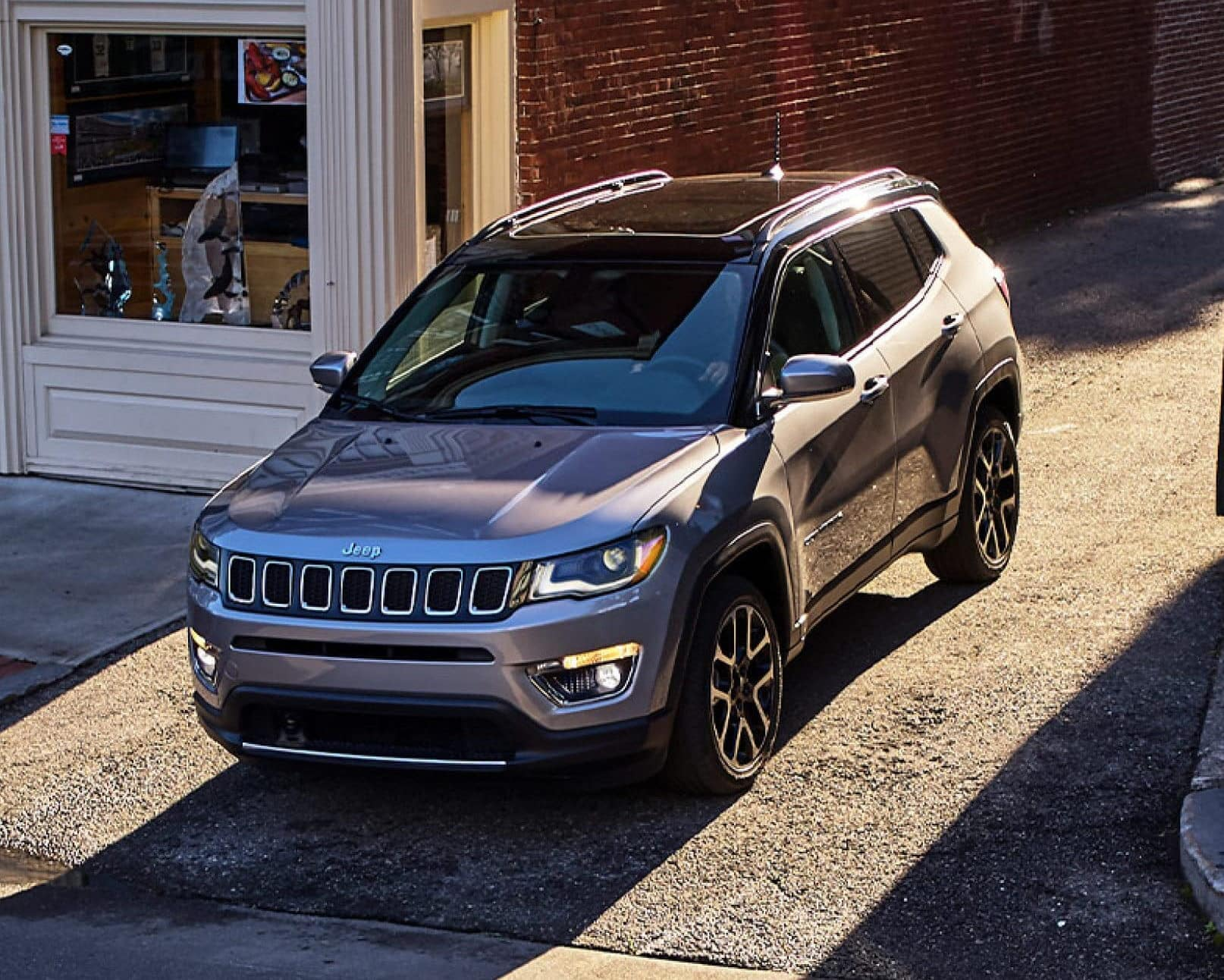 2021 Jeep Compass exterior front view