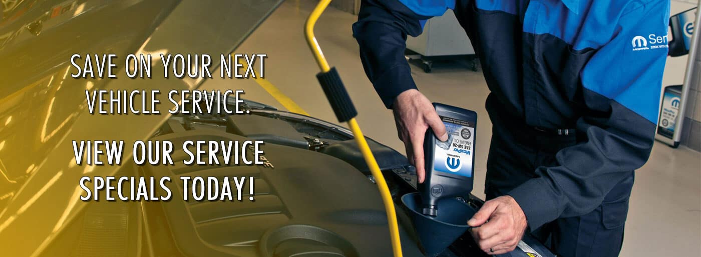 View our service specials!