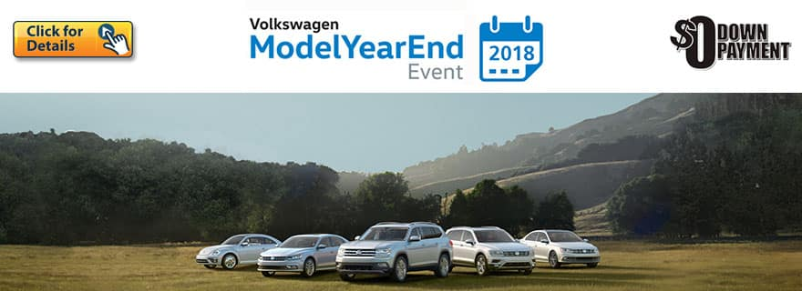 Model year End Event - September 2018