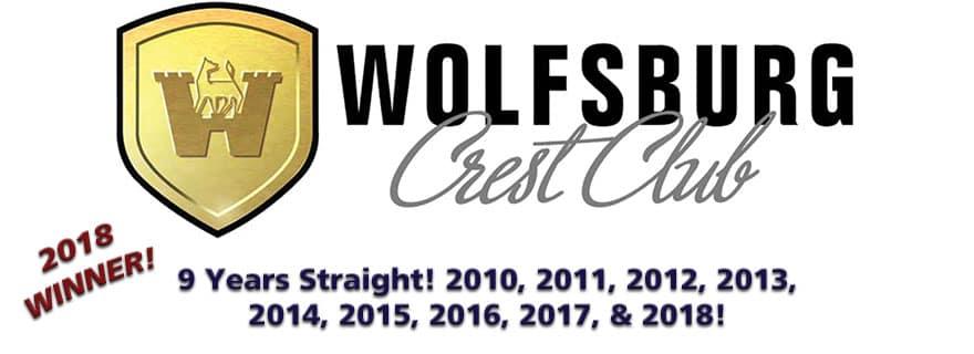 Wolfsburg Crest Club Winner 2018!