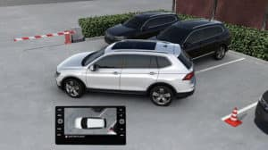 2019 Volkswagen Tiguan Surround View Camera System