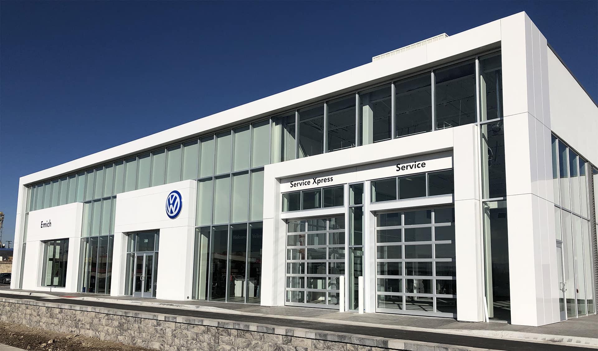 New Emich Volkswagen location near Aurora