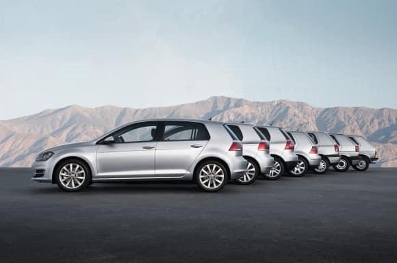 VW Golf celebrates 45 years