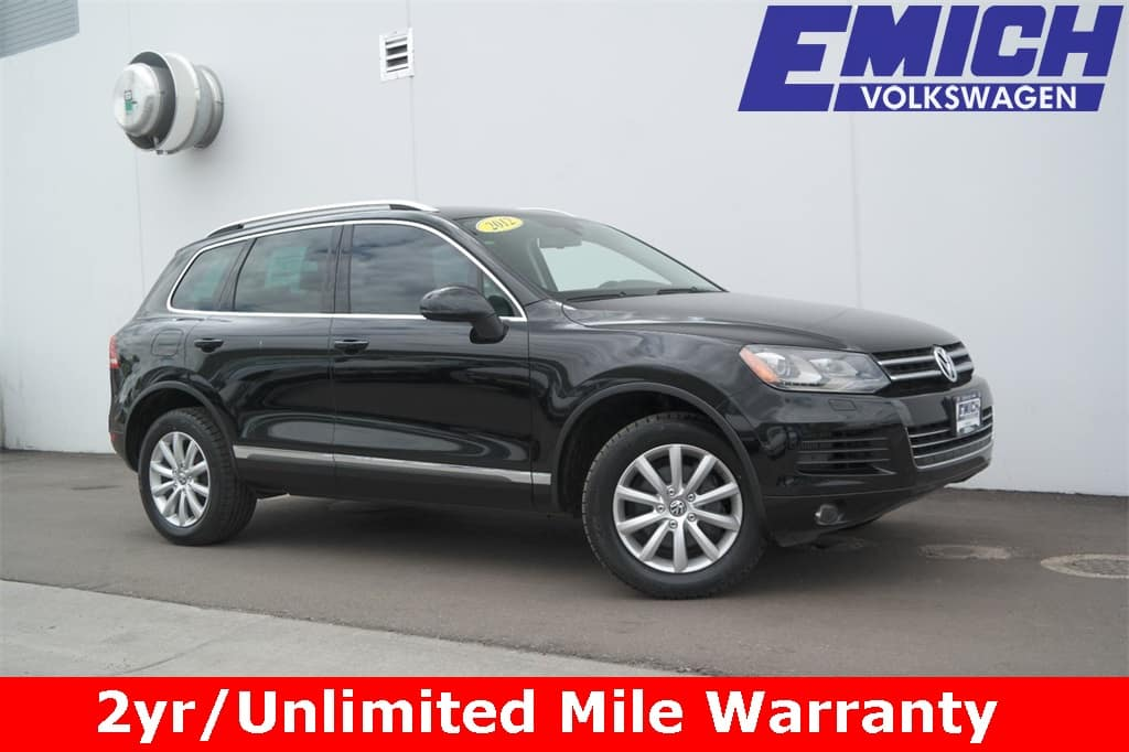 Cpo 2012 Volkswagen Touareg For Sale Gently Used In Denver Colorado